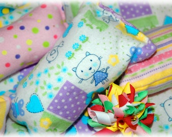 11 L Bedding / Linens for 18 inch/American Girl Doll Beds