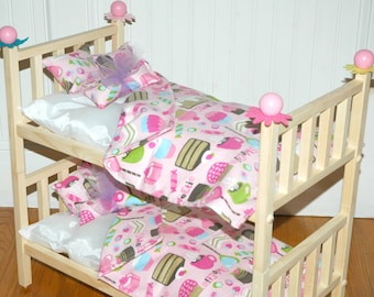 30F Bedding / Linens for 18 inch/American Girl Doll Beds