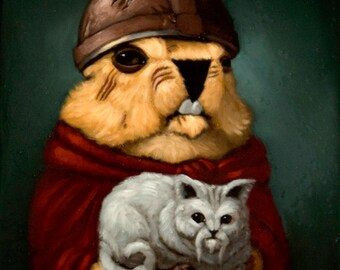 Kitty Pawn - Marmot Chess Limited Edition Print