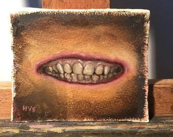 Oil Sketch - Teeth