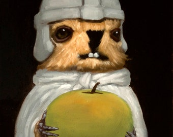Apple Pawn - Marmot Chess Limited Edition Print