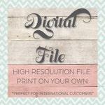 DIGITAL FILE - Photo Collage Design - Any Shape or Number