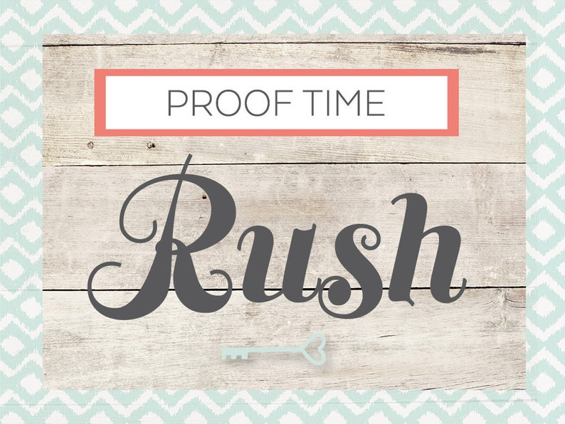 Rush My Proof  Two Business Days image 0
