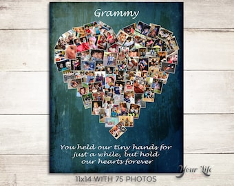 GRANDMA - Gift for grandparents, Thank you Grandma, Gift for Baba, Grandma Birthday Gift, Custom gift for grandma, Mother's Day Grandma Gift