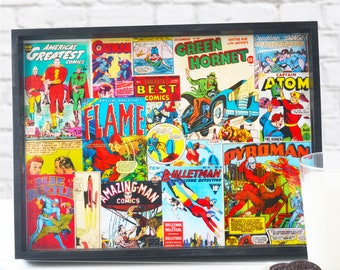 Vintage Comic Book Cover Serving Tray