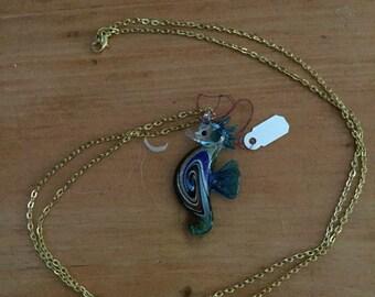 Sea Horse Pendant Necklace