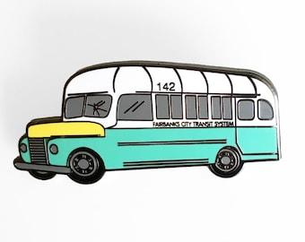 Into The Wild Bus 142 Enamel Pin