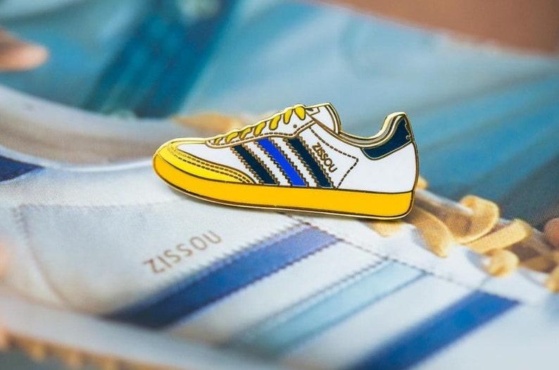 Zissou Adidas Enamel Pin - The Life Aquatic with Steve Zissou - Wes  Anderson Pin... Zissou Adidas Enamel Pin - The Life Aquatic with Steve  Zissou - Wes ... 13f7ac4ae