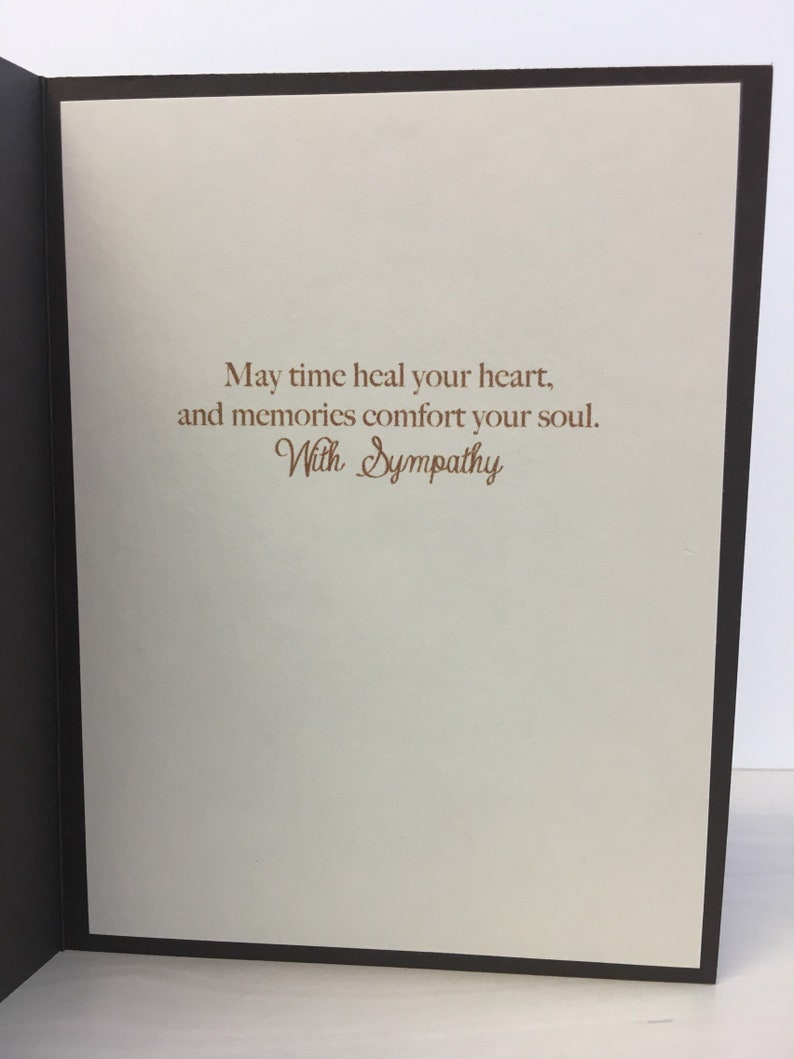 Handmade Sympathy Card Horse Sympathy Card