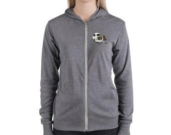 Wrenchin' Unisex zip hoodie