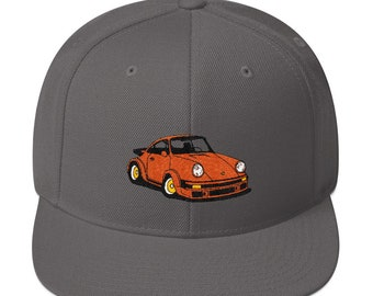 713f89dbb53 1974 Porsche 911 RSR Snapback Hat