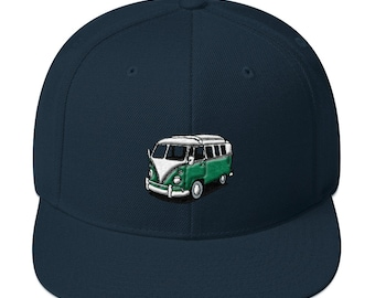 Split Window VW Bus Snapback Hat