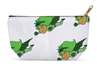 Ganja Girl Accessory Pouch (White)