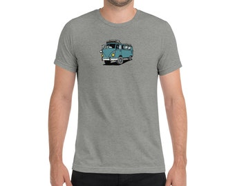 4x4 VW Split Window Bus Short sleeve t-shirt