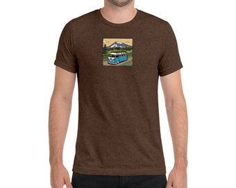 Washington State Split Window Bus Short sleeve t-shirt
