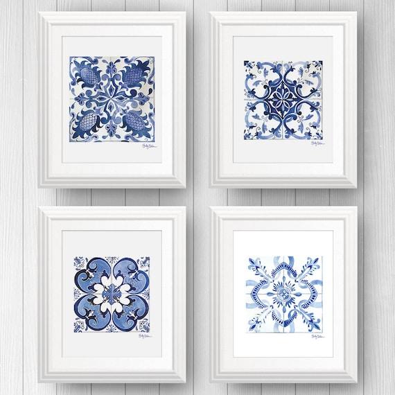 Talavera Tile Wall Art Azulejo Portuguese Tile Art Mexican | Etsy