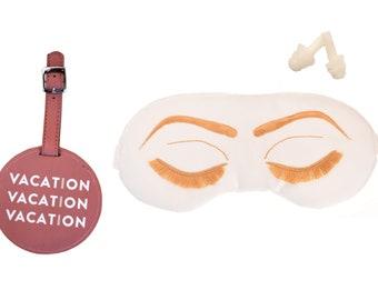 Holly Golightly Sleep Mask Travel Gift Set