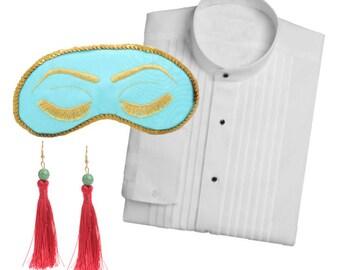 Big Little Lies Holly Golightly Costume - Breakfast at Tiffanys Halloween Costume Masquerade Audrey Hepburn