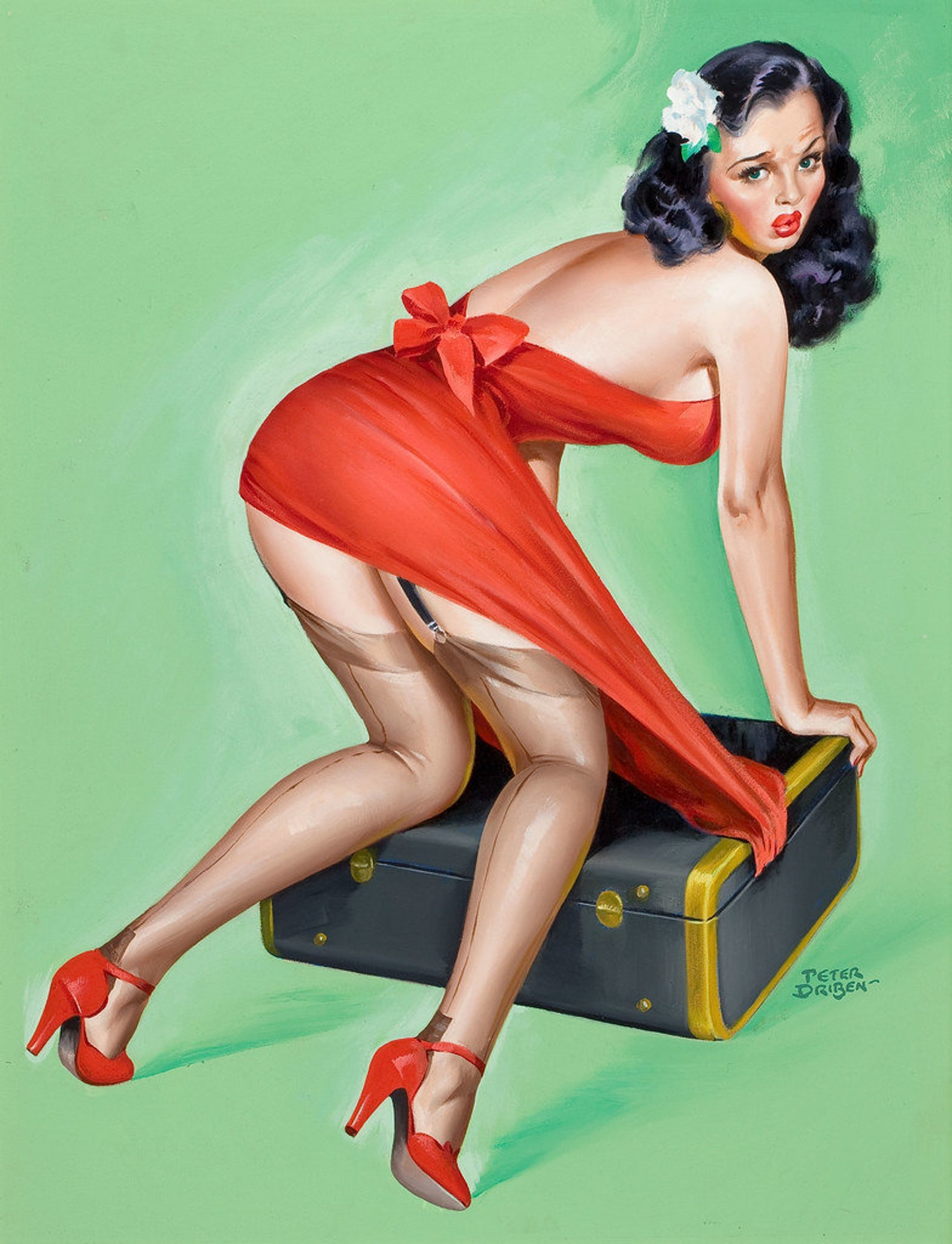 Modern, feminist tattoed pinups diary of a pin up