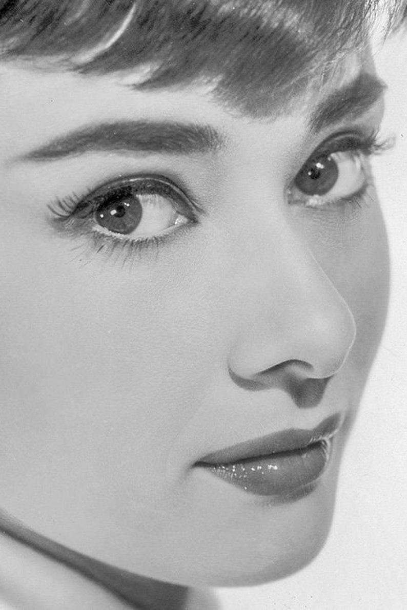 Audrey Is Pretty Audrey Hepburn Photo Collection INSTANT image 0