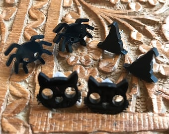 Witchy Vibes 3 Pairs Stud earrings Gift Set