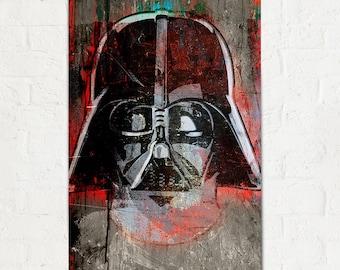Darth Vader - Star Wars - Art, Star Wars Poster, Art Print, Darth Vader Print, fan art Illustration, Star Wars Print, Star Wars gift idea