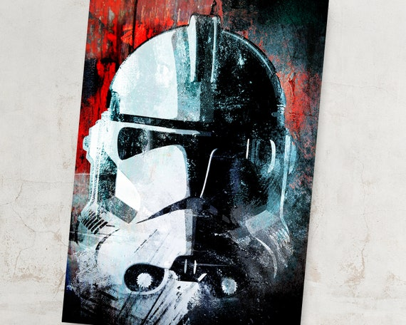 Scout Troopers AT-ST Stormtroopers Star Wars Movie Giant Wall Print POSTER