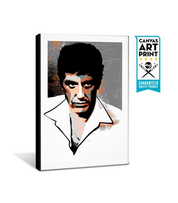 Scarface Al Pacino Canvas Art Print Scarface Poster fan