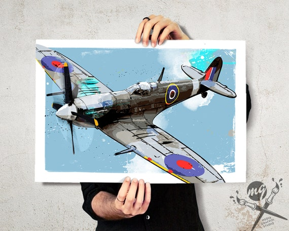 RAF Spitfire Collectable Braces Ideal Pilot Or Plane Enthusiast Gift