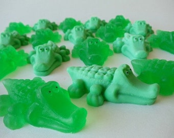 70 Alligator Soap Favors Swamp Baby Shower Favors Peter Etsy
