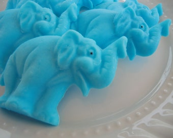 40 elephant soap favors - safari birthday favors - zoo baby shower favors - elephant wedding favors - jungle kids favors - elephant favors