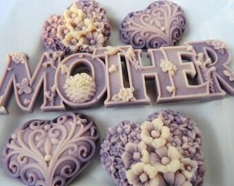 Savon des mères ensemble - cadeau pour maman, cadeau d'hôtesse