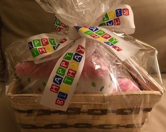 HAPPY BIRTHDAY Basket of Dog Fun!