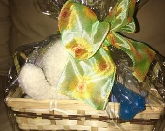 NEW PUPPY Dog Gift Basket