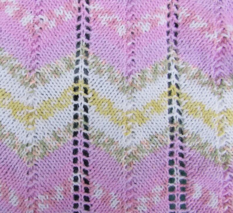 c210c87d8 Aran Baby Blanket hand knitted premium acrylic yarn