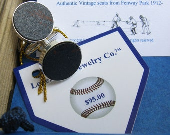 Fenway Park Boston Map Cufflinks Red Sox Fan Gift