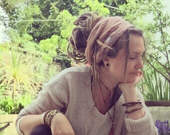 Dread wrap, Headband, Dreadband, Cowl scarf, Gifts for her, Boho gifts