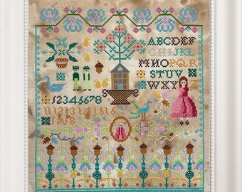 The Wish Sampler Xstitch Pattern
