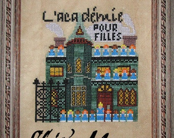 The Academy for Girls PDF Cross-Stitch