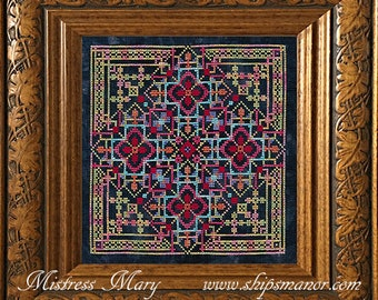 Mistress Mary Cross Stitch PDF