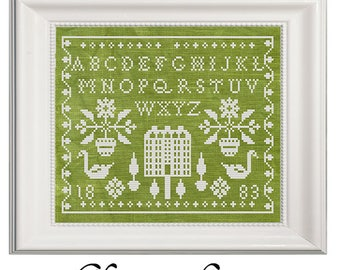 Home Again Cross Stitch PDF
