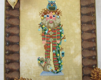 Woodland Nutcracker Cross-Stitch PDF