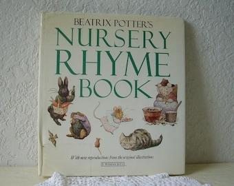 Book: Beatrix Potter's Nursery Rhyme Book, 1987 Edition.