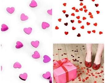 Valentine Confetti   Valentine Cards Insert   Shiny Heart Confetti   Red Heart Confetti   Heart Confetti