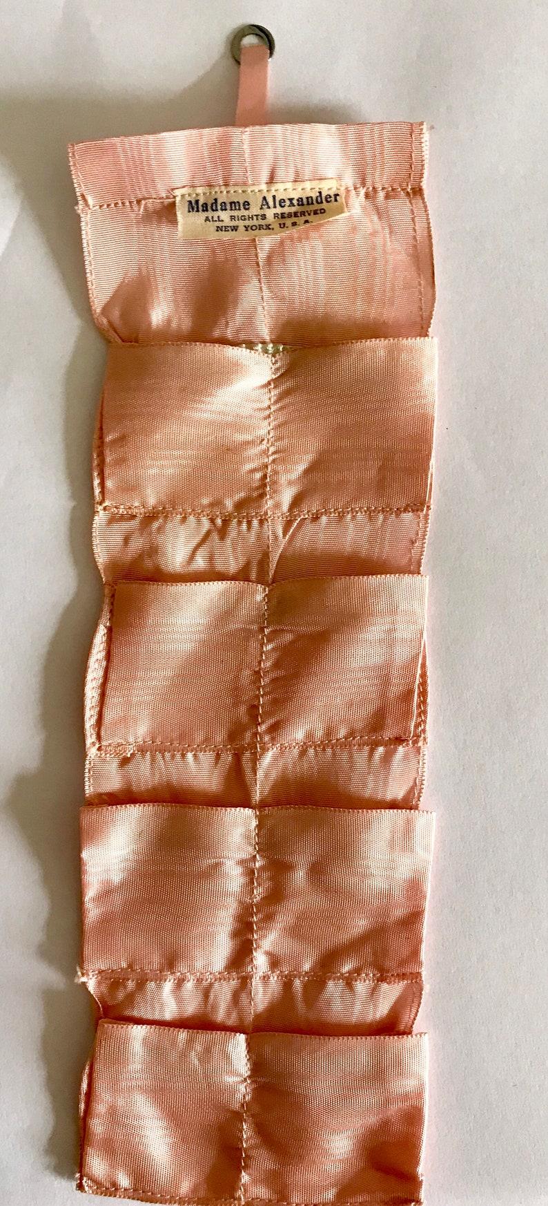 Vintage Metallic Gold Elastic for Madame Alexander Cissy Doll Shoes Belts Barbie