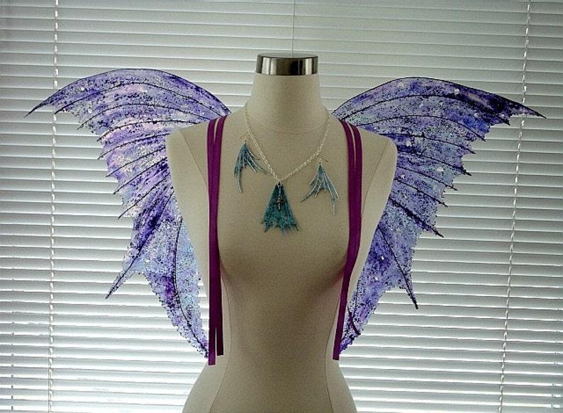 Fairy Wings-Iridescent Arwen Wings OOAK Fairy Wings Adult image 0