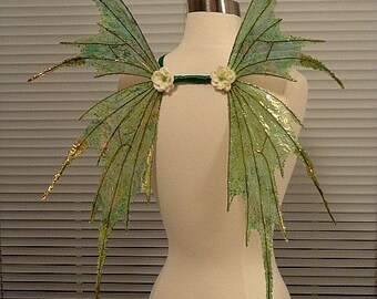 Irish Fairy-Celtic Fairy-Iridescent Adult size Fairy Wings (Made to Order by Request)
