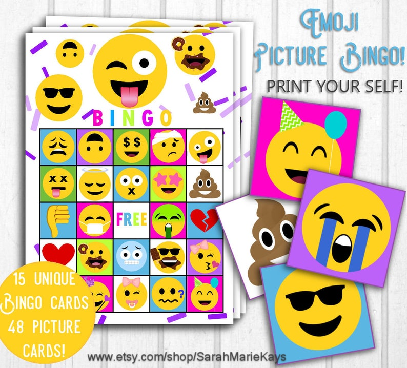 photograph regarding Printable Emoji Games named Emoji Consider Bingo, Printable Emoji Print Outs, Emoji Birthday Online games, Do it yourself Printouts, Emoji Video games, Emoji Celebration