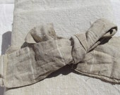 Pair of Antique French linen Bakers Bread makers cloths Boulangerie Proving Kitchen Towel