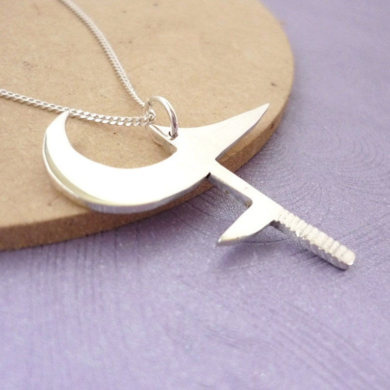 Buffy's Hunga Munga  Handmade Pendant in sterling silver image 0